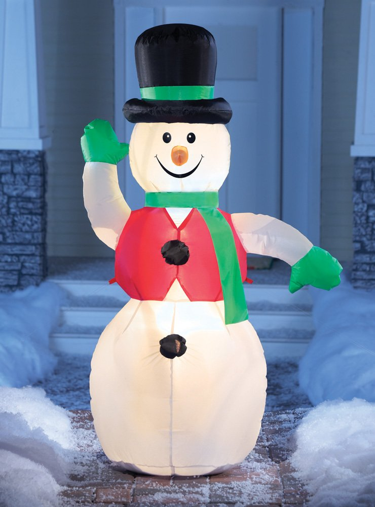 Christmas Snowman Outdoor Inflatables | Christmas Wikii