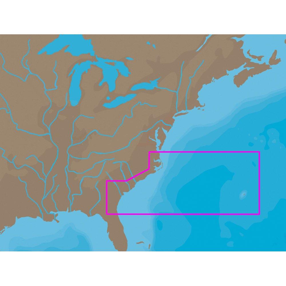 1 - C-MAP NT+ NA-C304 - Norfolk-Bermuda-Jacksonville - Furuno FP-Card