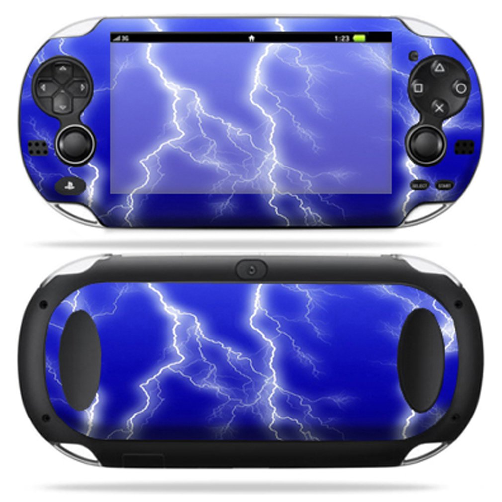 Protective Vinyl Skin Decal Cover for PS Vita PSVITA Playstation Vita Portable Sticker Skins Lightning Storm new star wars power stormtrooper skin sticker for xbox one console 2pcs controller skin kinect protective cover