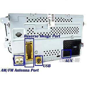 OEM RCD510 Car Radio USB Rear Image Camera Code For VW Jetta Golf Polo Passat CC