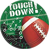 Football Frenzy Dinner Plates Party Accessory 50 piece