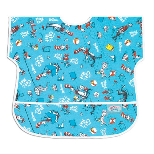 Bumkins Waterproof Junior Bib - Dr. Seuss Cat In The Hat