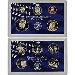 2000 United States Mint Proof State Quarter Set