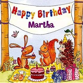 Amazon.com: Happy Birthday Martha: The Birthday Bunch: MP3 Downloads