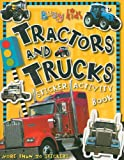 Tractors and Trucks Sticker Activity Book (Busy Kids)