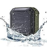 Altavoz de ducha portátil Bluetooth (verde militar)