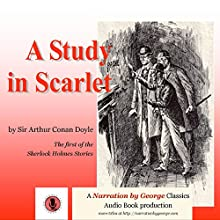 A Study in Scarlet Audiobook by Sir Arthur Conan Doyle Narrated by George Taylor