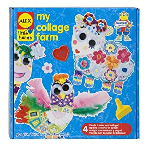 ALEX® Toys - Early Learning My Collage Farm -Little Hands 520W