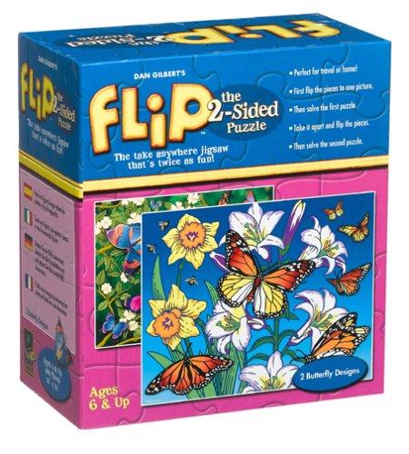 Flip Butterfly Jigsaw Puzzle 100pc