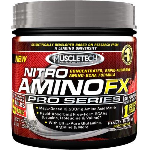 Muscletech Nitro Amino Fx Pro Series, Fruit Punch, 0.85-Pound