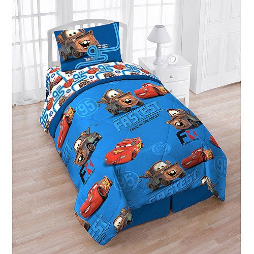 Disney Cars Twin Bedding Set Finish Line Friends Bed