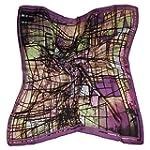 ETSYG� 32'' Silk Scarf Women's Purple...