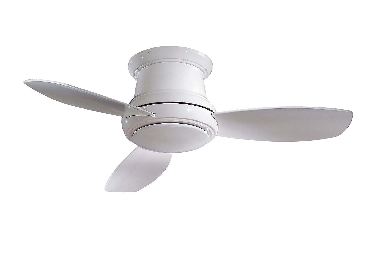 Minka-Aire F518-WH 44-inch Concept II Flush Mount Ceiling Fan