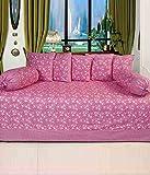 Hargunz Diwan-e-khas Cotton 8 Piece Diwan Set - Lavender (dwn-ggl-win)