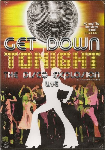 KC And The Sunshine Band Present Get Down Tonight Vol 1 - The Disco Explosion Live [*Ntsc/region 1 & 4 Dvd. Import-Latin America] - Mexico