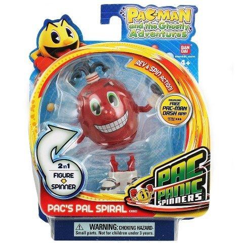 Bandai 38903 Pac Panic Spinners - Pacs Pal Spiral