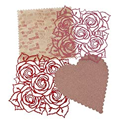 Martha Stewart Crafts Rose And Heart Die-Cut Sheets