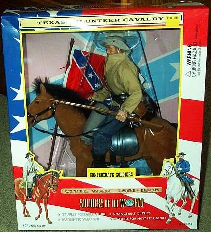 Picture of Formative International Soldiers of the World - Calvary Union Soldier Figure (B000V966U8) (Formative International Action Figures)