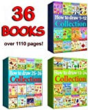 How to Draw Collection 1-36 Books (Over 1110 Pages) (how to draw collcetions)