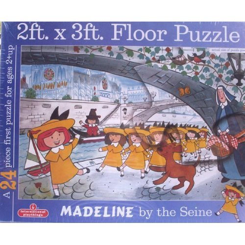 Madeline By the Seine 2x3 ft Floor Puzzle - 1