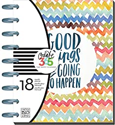 me & my BIG ideas Create 365 The Happy Planner, Good Things Are Going To Happen, 18 Month Planner, July 2015 - December 2016