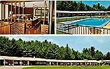 Ledgewood Motel Norway Maine Postcard