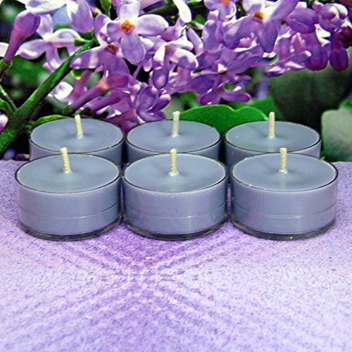 Lilac PURE SOY Tea Light Candles (Candle Warmers Non Electric compare prices)