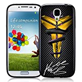 Kobe Bryant NBA Black Mamba On Carbon for iPhone and Samsung Galaxy Case (Samsung Galaxy S4 black)