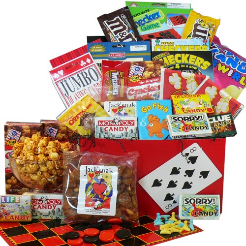 Art of Appreciation Gift Baskets Fun and Games Snacks and Treats Care Package Gift Box