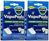 vicks vapopads soothing vapors replacement pad 2 pk