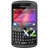 Exian Blacberry Curve 9350/9360/9370 Screen Protector Clear (2 pc) (Color: Clear)
