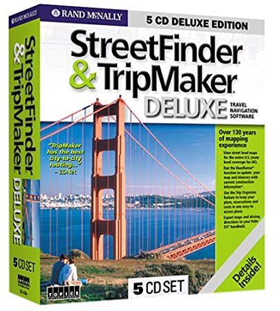 Rand McNally StreetFinder & TripMaker Deluxe