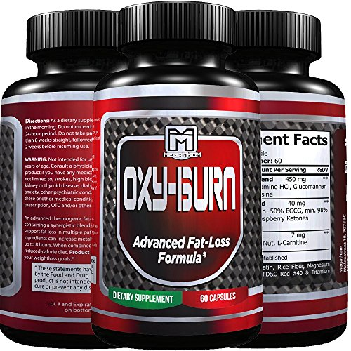 Burn Body Fat and Build Muscle Fast Naturally with OXY BURN Q3 | Best Natural Fat Burner and Muscle builder for Men and Women (60 capsules) USA premium quality 100% Guarantee! (Oxy Fat Burner compare prices)