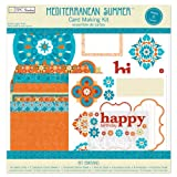 The Paper Company, 2010010, Mediterranean Summer Card Making Kit