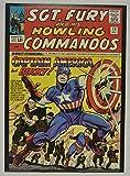 Stan Lee signed Sgt Fury #13 Comic Cover Vintage MARVEL 20x28 Poster autographed Stan Lee Hologram