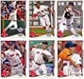 2014 Topps Boston Red Sox Opening Day Series MLB Baseball 10 Card Team Set with Dustin Pedroia, David Ortiz Plus