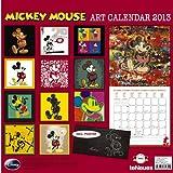2013 Disney Mickey Mouse Art Grid Calendar
