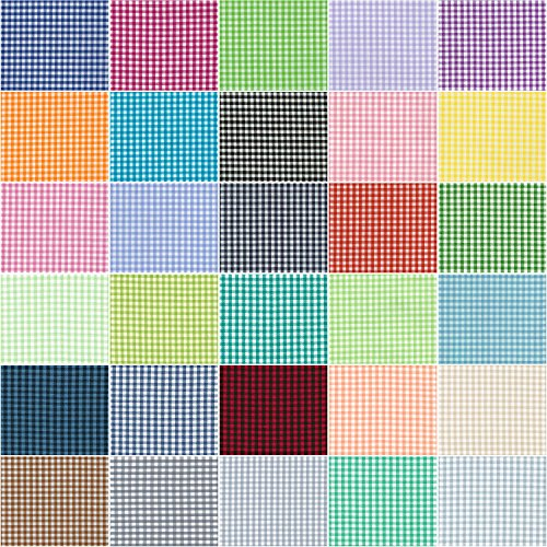 Robert Kaufman CAROLINA GINGHAM 1/8  Fat Eighths Bundle 30 Precut ... : cotton fabric quilting - Adamdwight.com