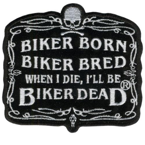 Hot Leathers Biker Born Patch (4