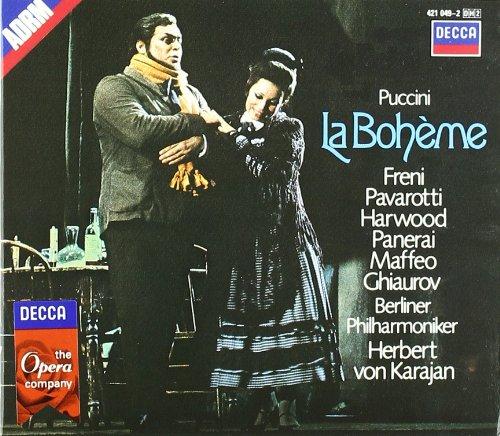 La Boheme (Freni-Pavarotti-Karajan)  - Puccini - CD