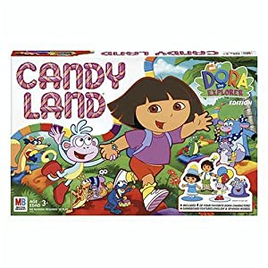 Candyland games: Dora the Explorer edition!