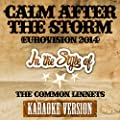 Calm After the Storm (Eurovision 2014) [In the Style of the Common Linnets] [Karaoke Version] - Single