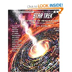 Star Trek: Voyages of Imagination: The Star Trek Fiction Companion by Jeff Ayers