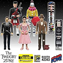Twilight Zone Five Characters 3 3/4-Inch Figures- Con. Excl.