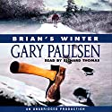 Brian's Winter Audiobook by Gary Paulsen Narrated by Richard Thomas