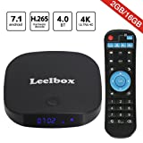 [2018 Edition] Leelbox Q2 pro Android 7.1 TV Box 2GB+16GB Dual-WIFI 2.4GHz/5GHz with BT 4.0 Supporting 4K (60Hz) Full HD (Q2 pro)