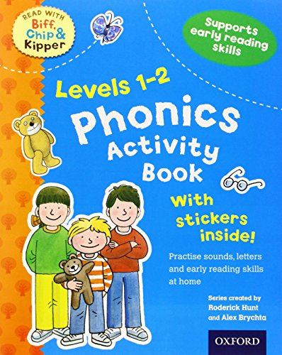 Oxford Reading Tree Read With Biff, Chip, and Kipper: Levels 1-2: Phonics Activity Book (Read With Biff Chip & Kipper)