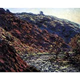 Art Panel - Gorge Of The Petite Creuse By Monet