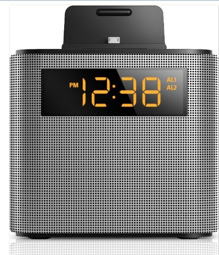 philips ajt3300 37 bluetooth dual alarm clock radio iphone android speaker do. Black Bedroom Furniture Sets. Home Design Ideas