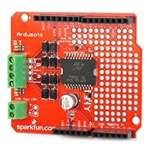 OMB Ardumoto L298P Motor Driver Shield for Arduino (Works with Official Arduino Boards)